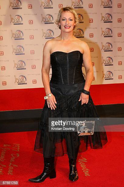 Personality Amanda Keller arrives at the 48th Annual TV Week Logie Awards at the Crown Entertainment Complex on May 7 2006 in Melbourne Australia