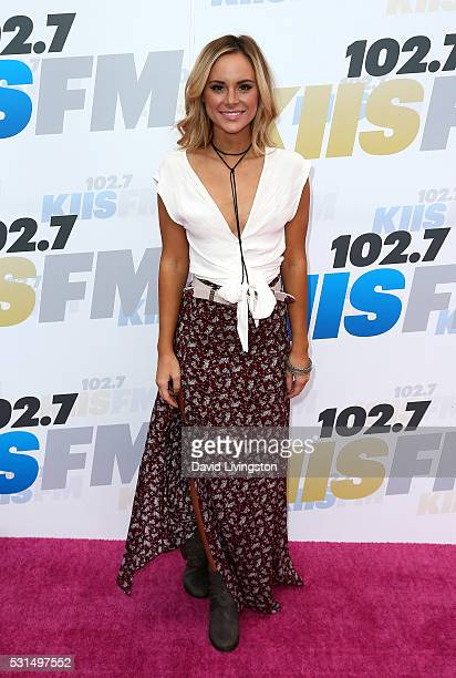 TV personality Amanda Stanton attends 1027 KIIS FM's 2016 Wango Tango at StubHub Center on May 14 2016 in Carson California