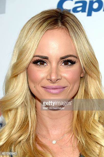 TV personality Amanda Stanton attends 1027 KIIS FM's Jingle Ball 2016 at Staples Center on December 2 2016 in Los Angeles California