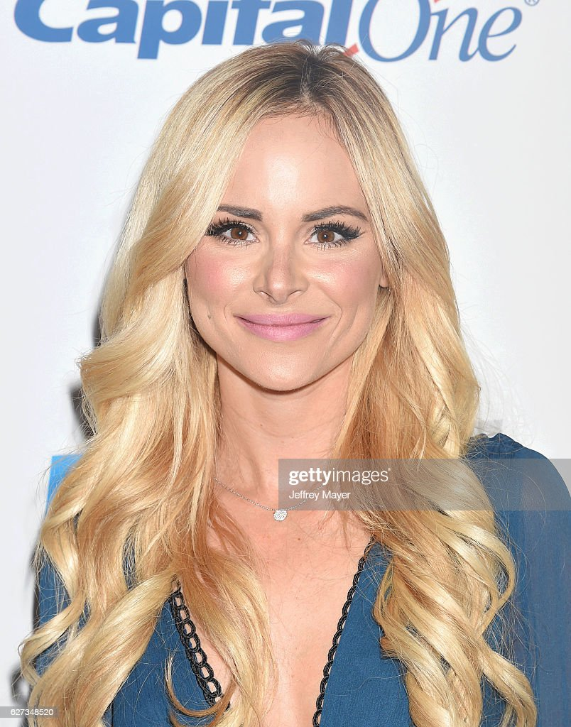 TV personality Amanda Stanton attends 102.7 KIIS FM's Jingle Ball 2016 at Staples Center on December 2, 2016 in Los Angeles, California.