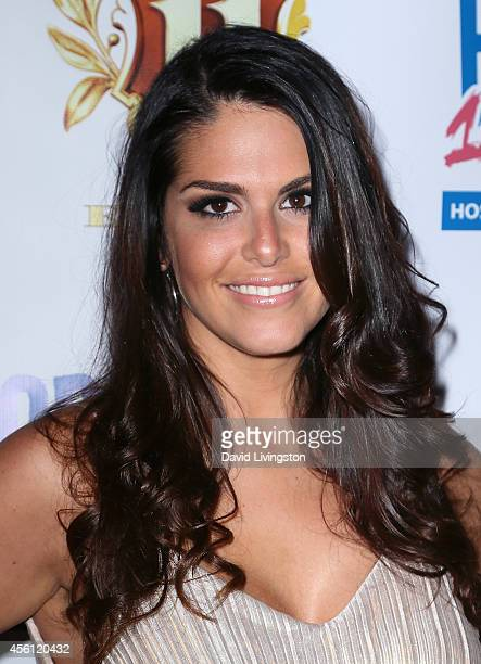 TV personality Amanda Zuckerman attends the 'Big Brother 16' Red Carpet Finale Party at Eleven NightClub on September 25 2014 in West Hollywood...