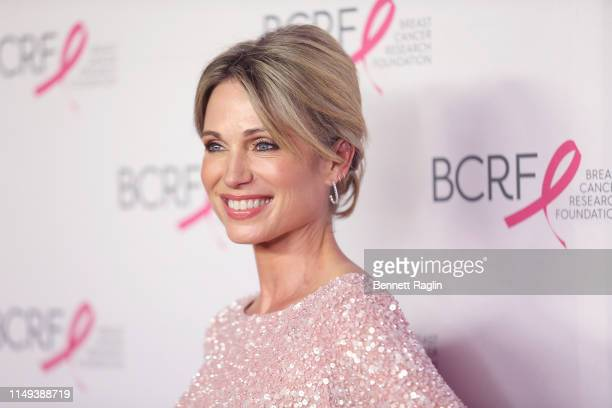 TV personality Amy Robach attends the Breast Cancer Research Foundation's 2019 Hot Pink Party at Park Avenue Armory on May 15 2019 in New York City