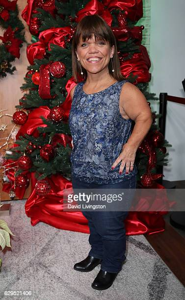 TV personality Amy Roloff visits Hollywood Today Live at W Hollywood on December 13 2016 in Hollywood California