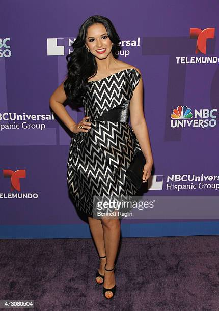 TV personality Ana Jurka attends the 2015 Telemondo And NBC Universo Upfront at Frederick P Rose Hall Jazz at Lincoln Center on May 12 2015 in New...