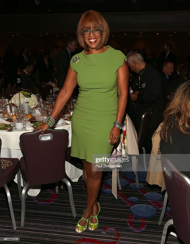 TV personality and Editor-at- Large O, The Oprah Magazine, Gayle King attends the 2014 National Magazine Awards at The New York Marriott Marquis on May 1, 2014 in New York City.