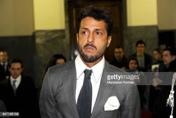 Personality and entrepreneur Fabrizio Corona in court during his trial. Milan, Italy. 2nd December 2010