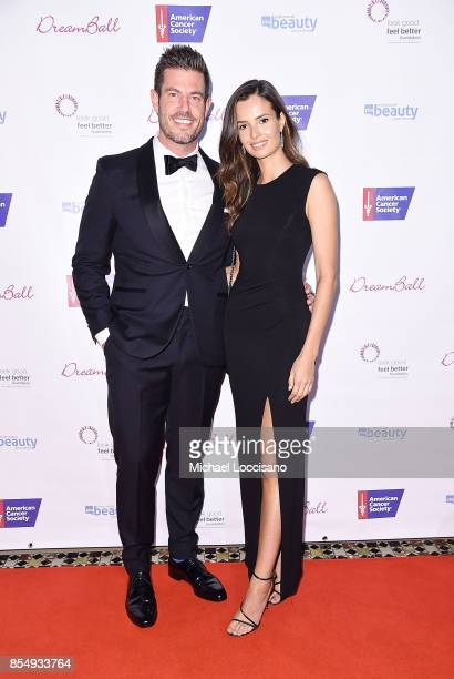 TV personality and former professional football player Jesse Palmer and model Emely Fardo attend the 2017 DreamBall To Benefit Look Good Feel Better...