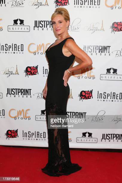 TV personality and honoree Sonja TremontMorgan attends the Inspired In New York Event on July 11 2013 in New York United States
