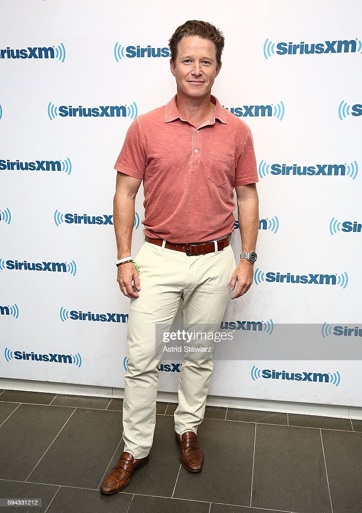 TV personality and NBC's 'Today' show co-anchor, Billy Bush visits the SiriusXM Studios on August 22, 2016 in New York City.