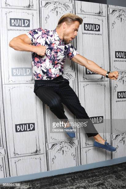 Personality and professional dancer Derek Hough visits Build Series to discuss 'World of Dance' at Build Studio on May 14, 2018 in New York City.
