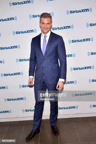 TV personality and real estate sales person Ryan Serhant visits SiriusXM Studios on March 16 2018 in New York City