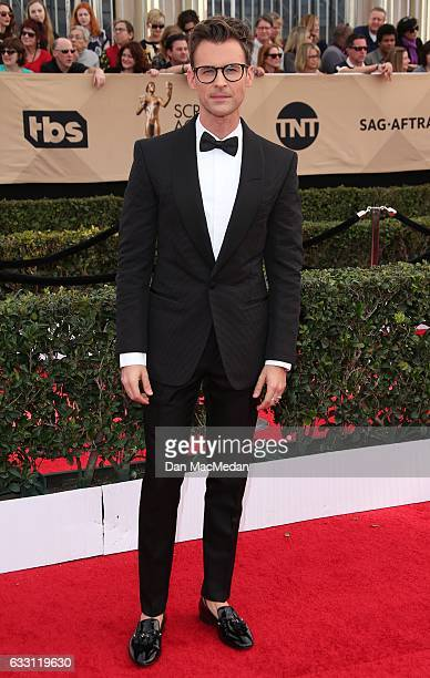 TV personality and stylist Brad Goreski arrives at the 23rd Annual Screen Actors Guild Awards at The Shrine Expo Hall on January 29 2017 in Los...