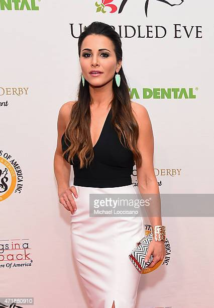 TV personality Andi Dorfman attends the 141st Kentucky Derby Unbridled Eve Gala at Galt House Hotel Suites on May 1 2015 in Louisville Kentucky