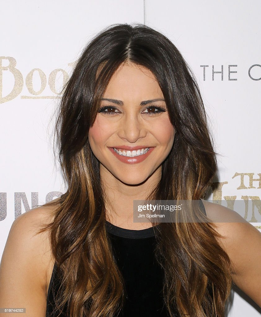 TV personality Andi Dorfman attends the screening of 'The Jungle Book' hosted by Disney with The Cinema Society and Samsung at AMC Empire 25 theater on April 7, 2016 in New York City.