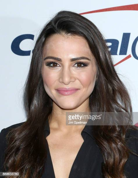 TV personality Andi Dorfman attends the Z100's iHeartRadio Jingle Ball 2017 at Madison Square Garden on December 8 2017 in New York City