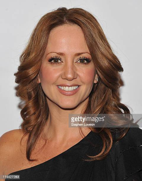 TV personality Andrea Legarreta attends Univision's Upfront reception featuring Hispanic America's Most Beloved Stars at The Edison Ballroom on May...