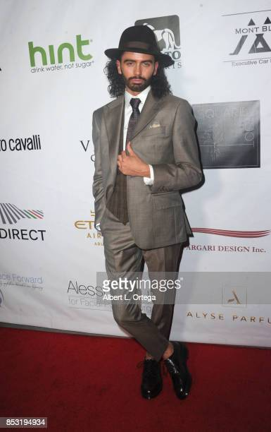 Personality Andrew Cruickshank arrives for the Face Forward 8th Annual Gala held at Taglyan Cultural Complex on September 23 2017 in Hollywood...