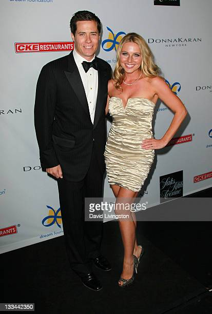 TV personality Andrew Firestone and wife Ivana Bozilovic attend the Dream Foundation's 10th annual Celebration of Dreams at Bacara Resort and Spa on...