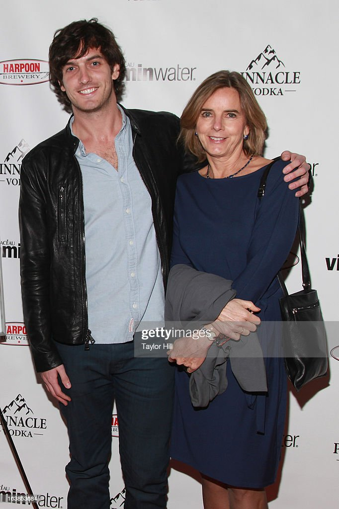 TV personality Andrew Jenks and nurse practicioner Nancy Piper Jenks attend the 'World Of Jenks' Season 2 Premiere And 'Andrew Jenks: My Life As A Filmmaker' Book Launch Party at Solo on March 16, 2013 in New York City.