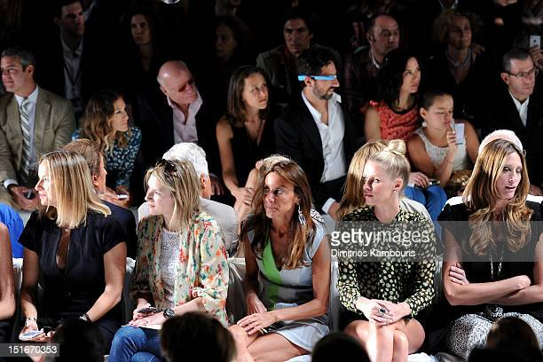 TV personality Andy Cohen actress Sarah Jessica Parker Barry Diller Chairman and Senior Executive of IAC/InterActiveCorp Anne Wojcicki Google...
