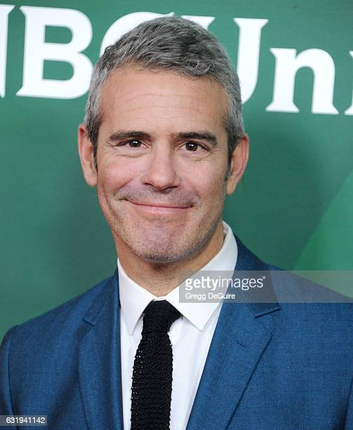 TV personality Andy Cohen arrives at the 2017 NBCUniversal Winter Press Tour Day 1 at Langham Hotel on January 17 2017 in Pasadena California