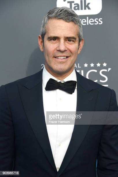 TV personality Andy Cohen attends The 23rd Annual Critics' Choice Awards at Barker Hangar on January 11 2018 in Santa Monica California