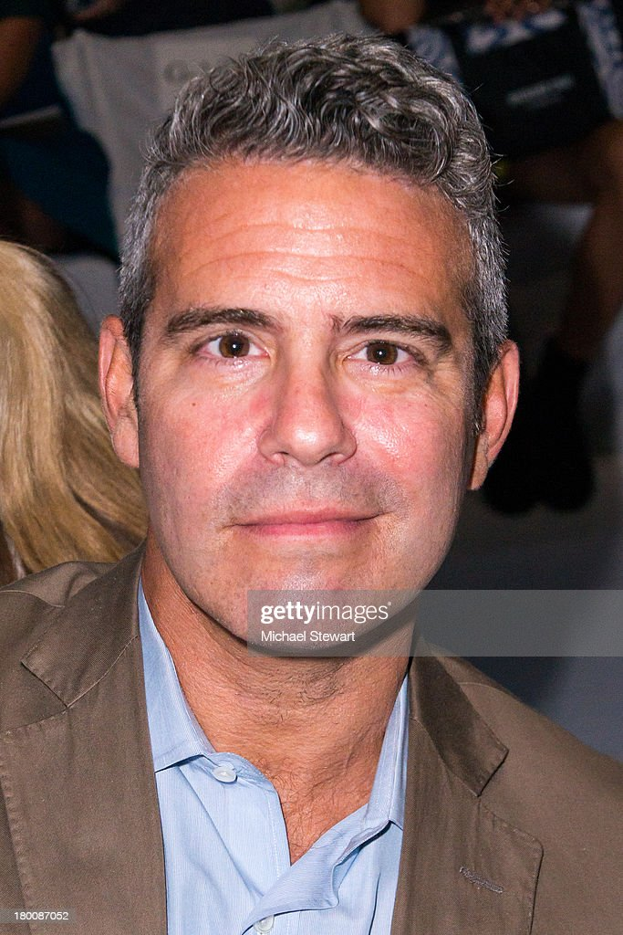 TV personality Andy Cohen attends the Diane Von Furstenberg show during Spring 2014 Mercedes-Benz Fashion Week at The Theatre at Lincoln Center on September 8, 2013 in New York City.