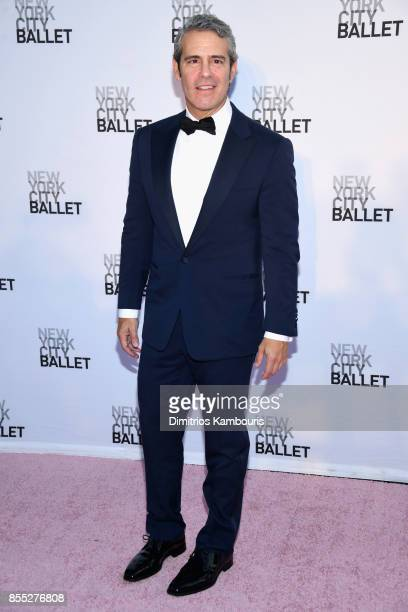 Personality Andy Cohen attends the New York City Ballet's 2017 Fall Fashion Gala at David H Koch Theater at Lincoln Center on September 28 2017 in...
