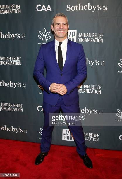 TV personality Andy Cohen attends The Sean Penn Friends Haiti Takes Root Benefit Dinner Auction Supporting J/P Haitian Relief Organization at...