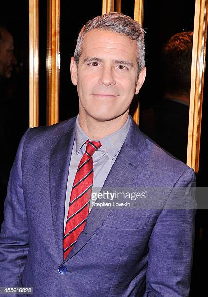 TV personality Andy Cohen attends the Universal Pictures and Cross Creek Pictures with The Cinema Society screening of A Walk Among the Tombstones...