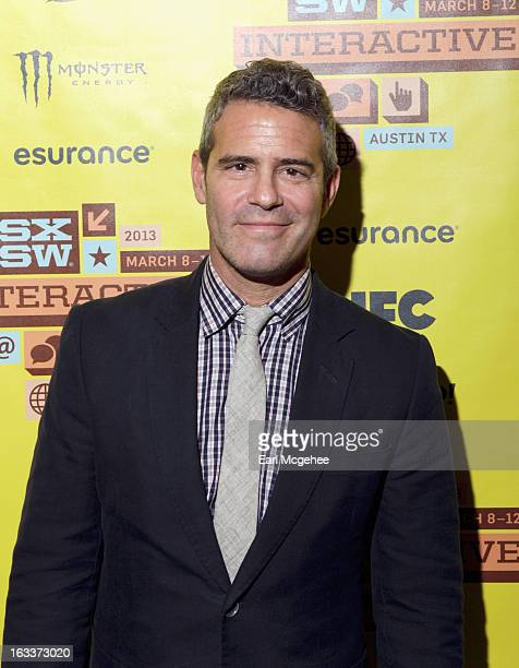 TV personality Andy Cohen attends Watch What Happens Live with Andy Cohen Michael Davies during the 2013 SXSW Music Film Interactive Festival at Long...