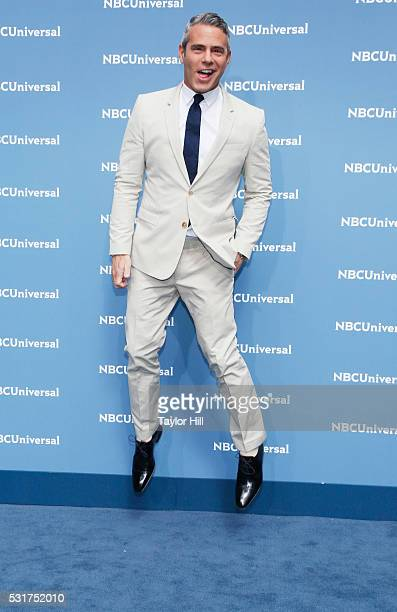 TV personality Andy Cohen of Watch What Happens Live on Bravo attends the NBCUniversal 2016 Upfront on May 16 2016 in New York New York