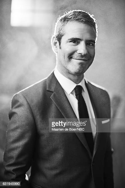 TV personality Andy Cohen of 'Watch What Happens Live with Andy Cohen' poses for a portrait in the NBCUniversal Press Tour portrait studio at The...