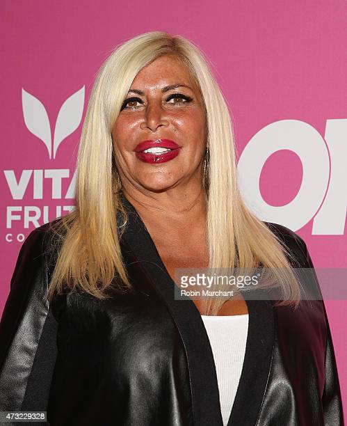 Personality Angela 'Big Ang' Raiola attend OK Magazine's So Sexy NYC Event at HAUS Nightclub on May 13 2015 in New York City