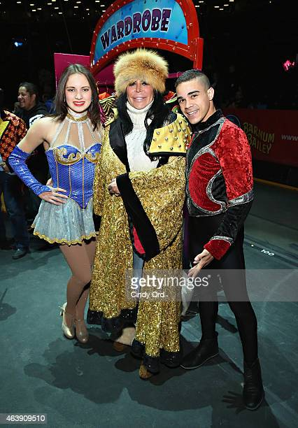 TV personality Angela 'Big Ang' Raiola attends the New York premiere of Ringling Bros and Barnum Bailey presents 'CIRCUS XTREME'' at Barclays Center...