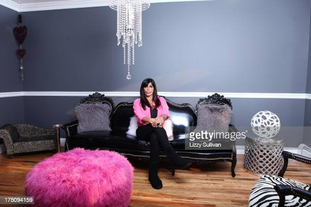 TV personality Angela Raiola aka Big Ang poses for a portrait at her house on September 25 2012 in Staten Island New York