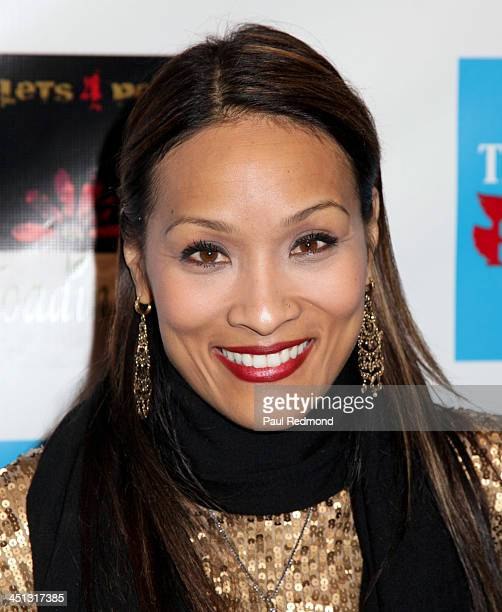 TV personality Angela Rockwood of Push Girls attends award at Reloading Life The Art Of Peace Anti Gun Violence Event at SupperClub Los Angeles on...
