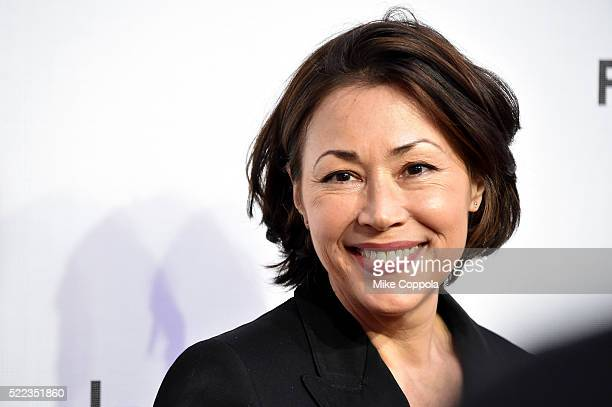 TV personality Ann Curry attends the Elvis Nixon Premiere during the 2016 Tribeca Film Festival at BMCC John Zuccotti Theater on April 18 2016 in New...