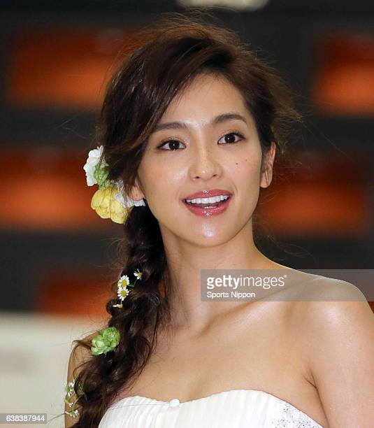 TV personality Anne Nakamura attends the 2nd Bride Awards Ceremony on June 21 2015 in Tokyo Japan