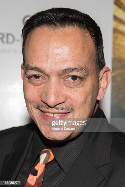 TV personality Anthony Rubio attends the Markus Indrani Icons book launch and exhibition opening at Alice Tully Hall Lincoln Center on December 11...