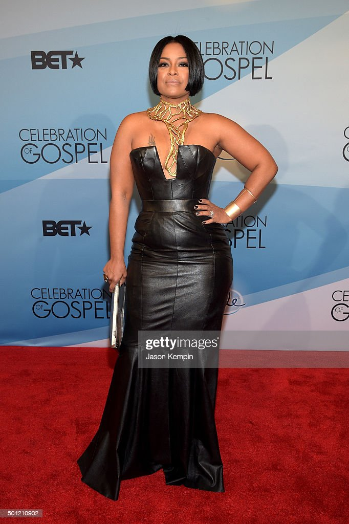 TV Personality April Daniels attends BET Celebration Of Gospel 2016 at Orpheum Theatre on January 9, 2016 in Los Angeles, California.