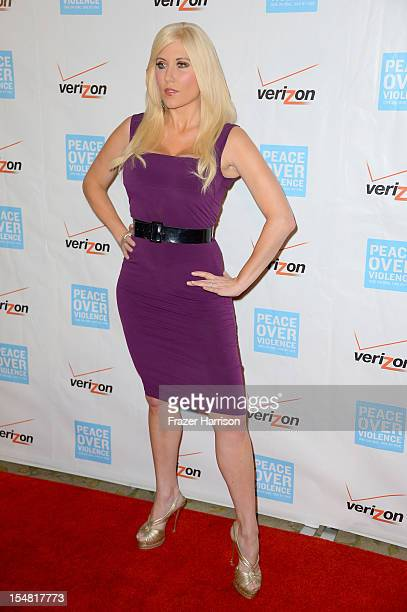 TV personality Ariane Bellamar arrives at the 41st Annual Peace Over Violence Humanitarian Awards held at Beverly Hills Hotel on October 26 2012 in...