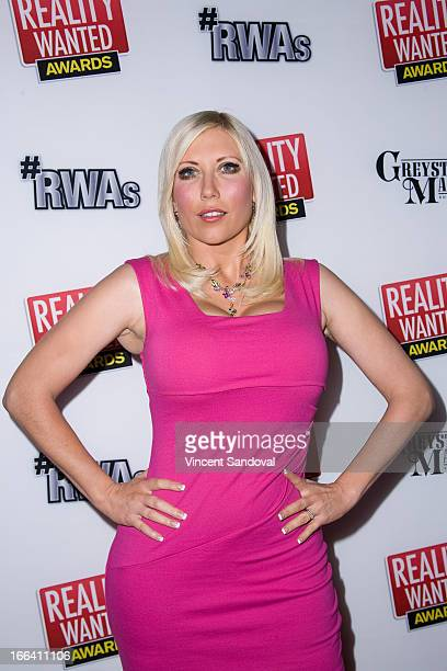 TV personality Ariane Bellamar attends the 1st annual 'RealityWanted' Reality TV Awards show at Greystone Mansion on April 11 2013 in Beverly Hills...