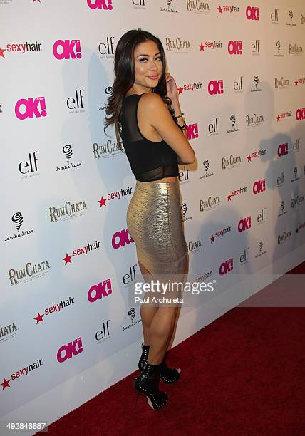 Personality Arianny Celeste attends OK Magazine's So Sexy LA event at Lure on May 21 2014 in Hollywood California