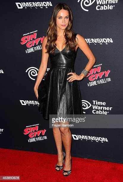 TV personality Asha Leo attends Premiere of Dimension Films' Sin City A Dame To Kill For at TCL Chinese Theatre on August 19 2014 in Hollywood...
