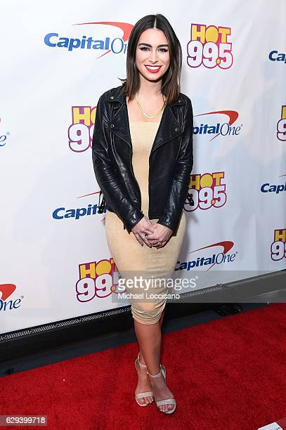 TV personality Ashley Iaconetti attends Hot 995's Jingle Ball 2016 at Verizon Center on December 12 2016 in Washington DC