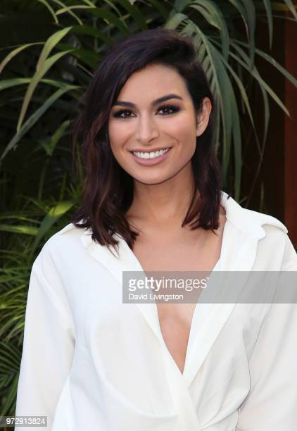 TV personality Ashley Iaconetti attends the premiere of Universal Pictures and Amblin Entertainment's Jurassic World Fallen Kingdom at Walt Disney...