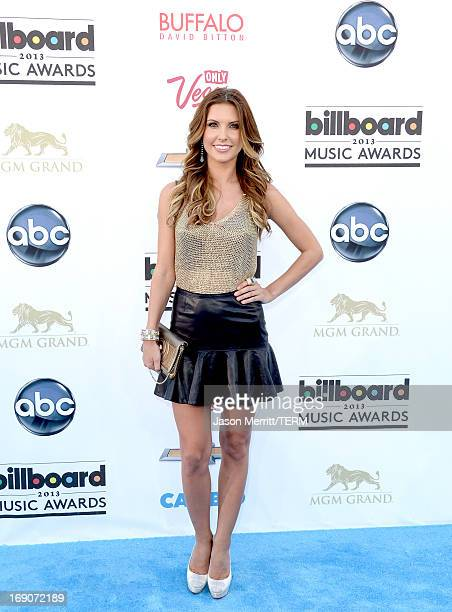 TV personality Audrina Partridge arrives at the 2013 Billboard Music Awards at the MGM Grand Garden Arena on May 19 2013 in Las Vegas Nevada