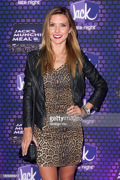 TV personality Audrina Partridge attends No Curfew Featuring Diplo and Chromeo at Club Nokia on October 23 2013 in Los Angeles California