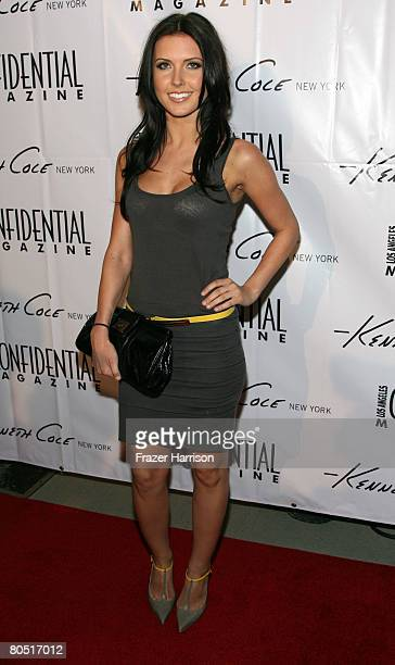 Personality Audrina Patridge arrvies at the Kenneth Cole Celebrates The Awearness Fund event held at the Kenneth Cole New York store at the Beverly...